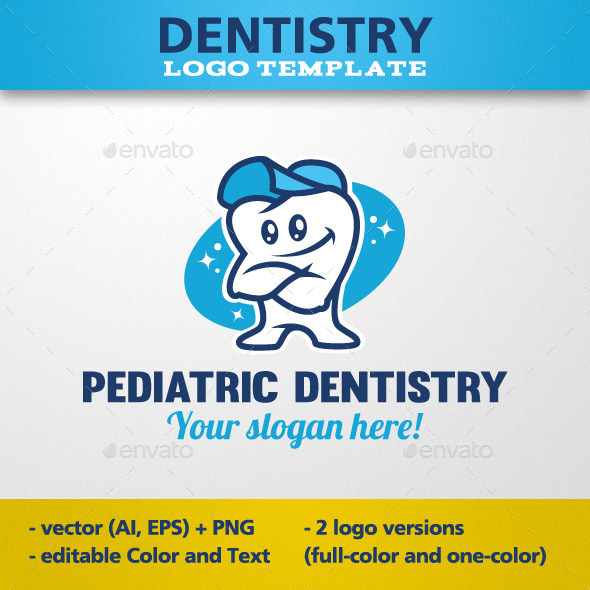 GraphicRiver Pediatric Dentistry Logo Template 11675751