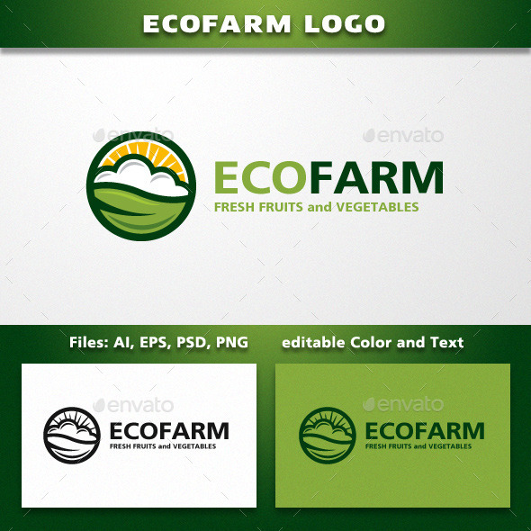GraphicRiver Farming or Landscaping Company Logo Template 11669116