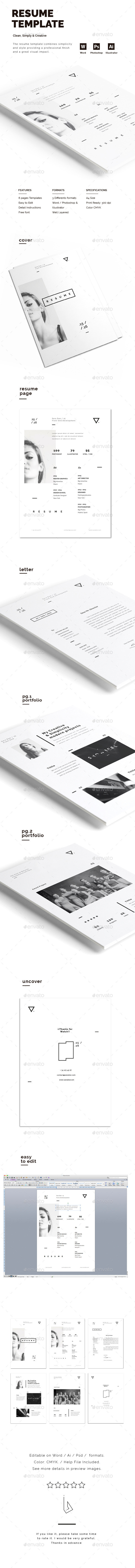 GraphicRiver Resume 11894650