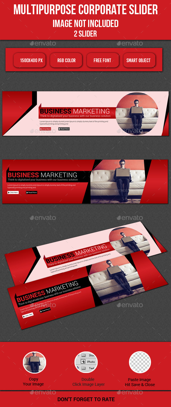 GraphicRiver Multipurpose Corporate Slider 11894654