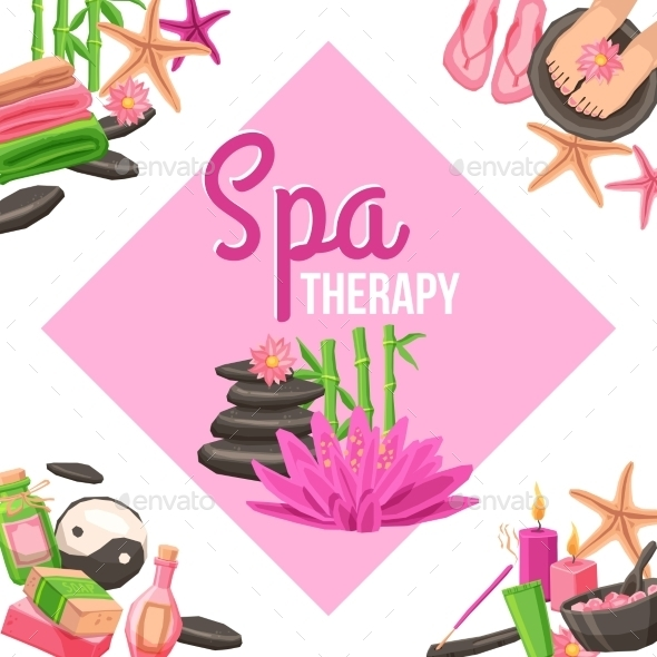 GraphicRiver Spa Corner Set 11894923