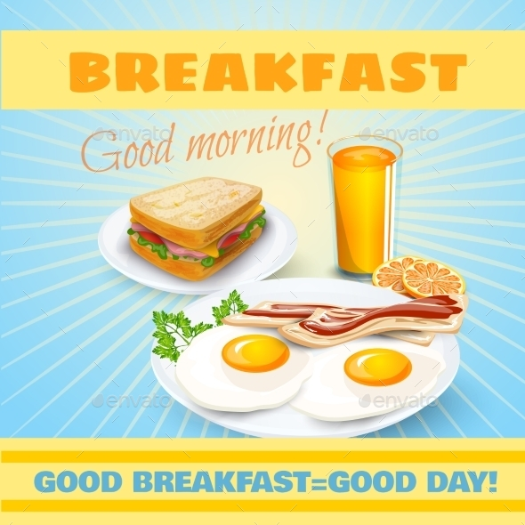 GraphicRiver Breakfast Classical Poster 11895286