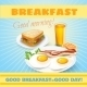Breakfast Classical  Poster - GraphicRiver Item for Sale