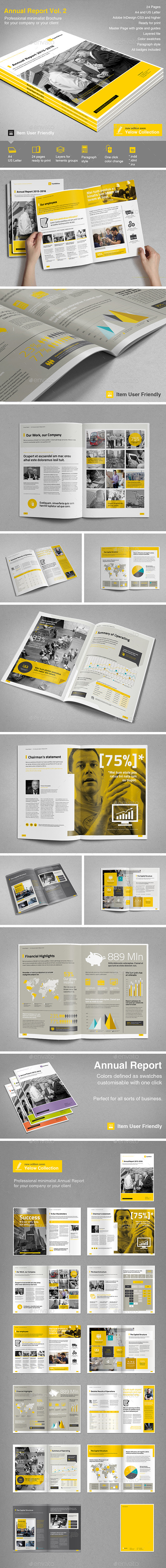 GraphicRiver Annual Report Vol 2 11895467
