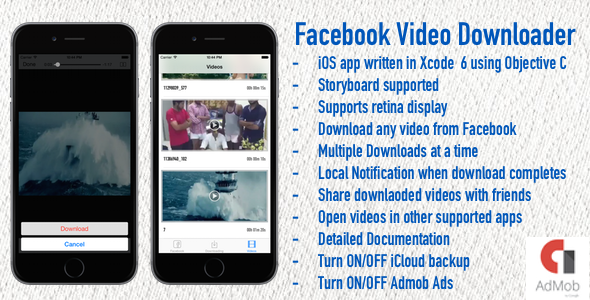 Facebook Video Downloader - CodeCanyon Item for Sale