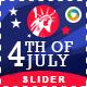 Independence Day Sale Slider - GraphicRiver Item for Sale