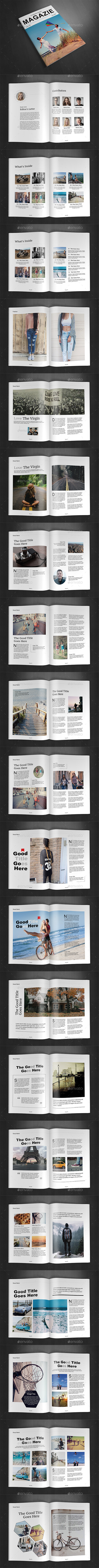 GraphicRiver A4 Magazine Template Vol.15 11895646