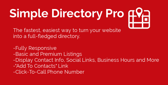 CodeCanyon Simple Directory Pro 11869464