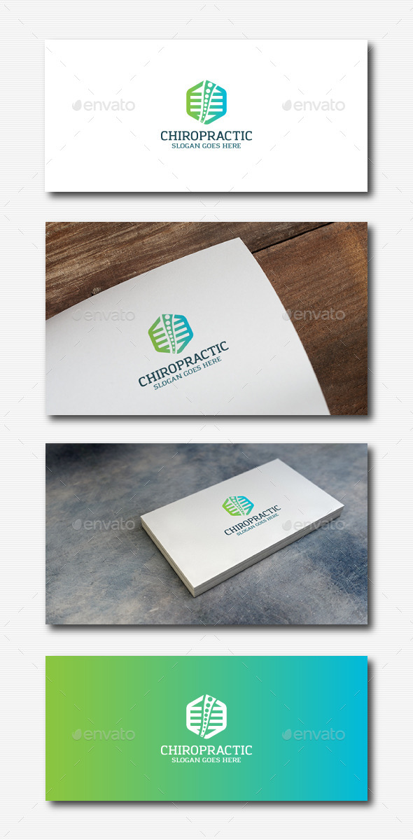 GraphicRiver Chiropractic Abstract Logo 11895818