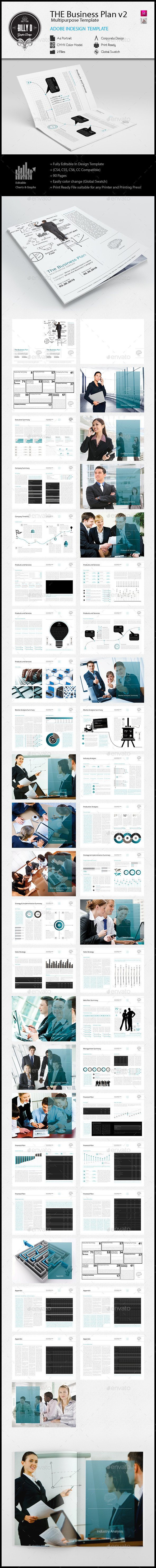 GraphicRiver The Business Plan Multipurpose Template v2 11896127