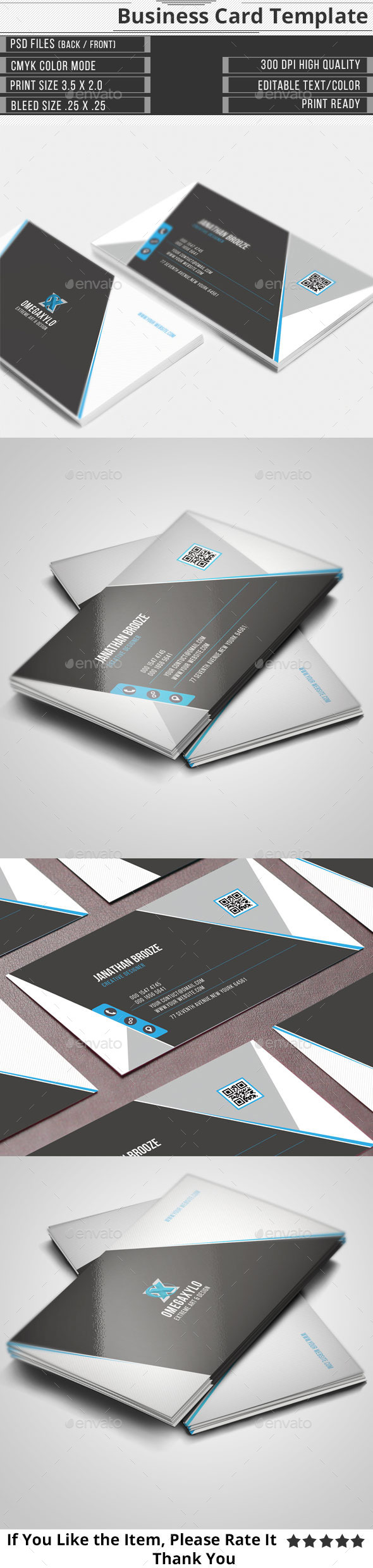 GraphicRiver Corporate Business Card 11896607