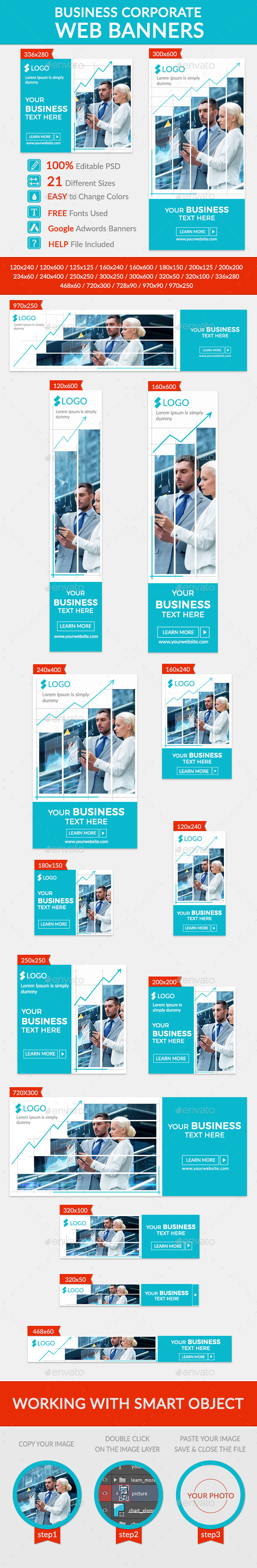 GraphicRiver Business Banners 11898823