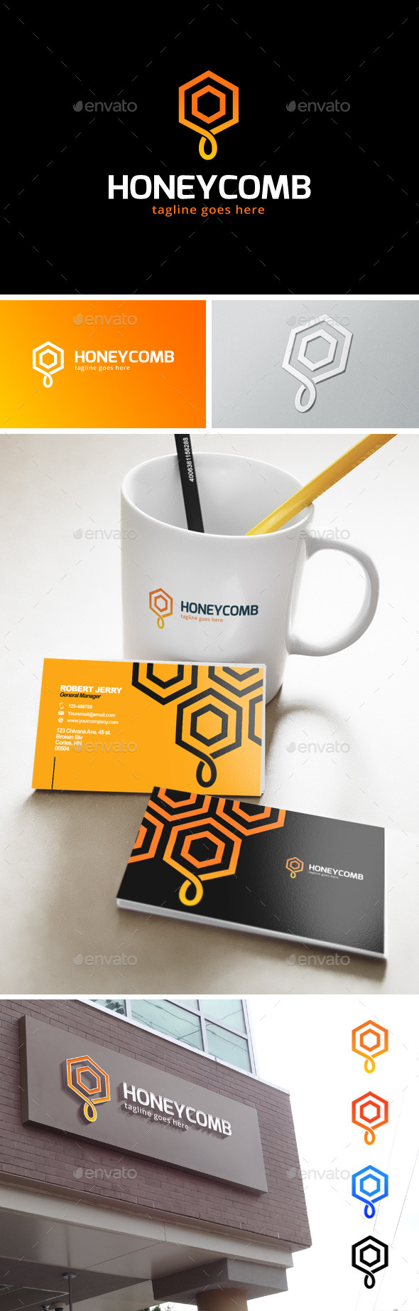 GraphicRiver Honey Logo 11893790