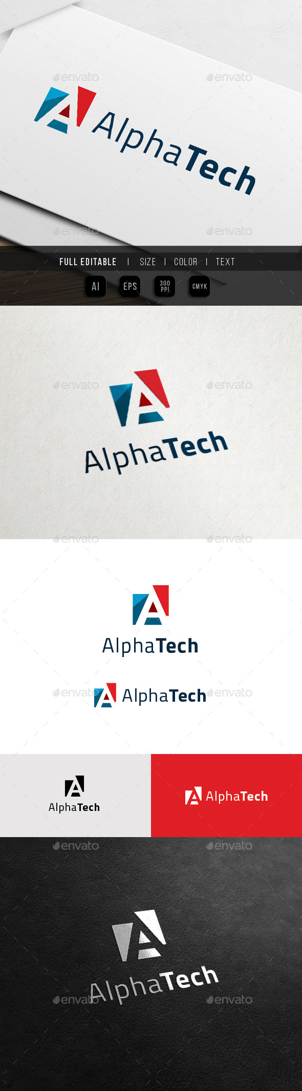 GraphicRiver A Logo Alpha Tech 11899216