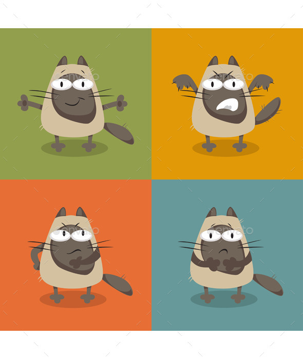 GraphicRiver Collection of Cats 11899248