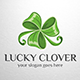 Lucky Clover Logo Template - GraphicRiver Item for Sale
