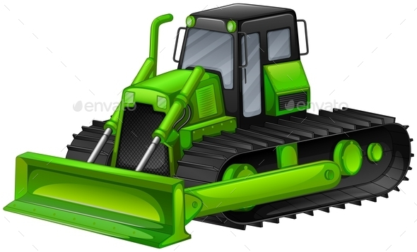 GraphicRiver Bulldozer 11902210