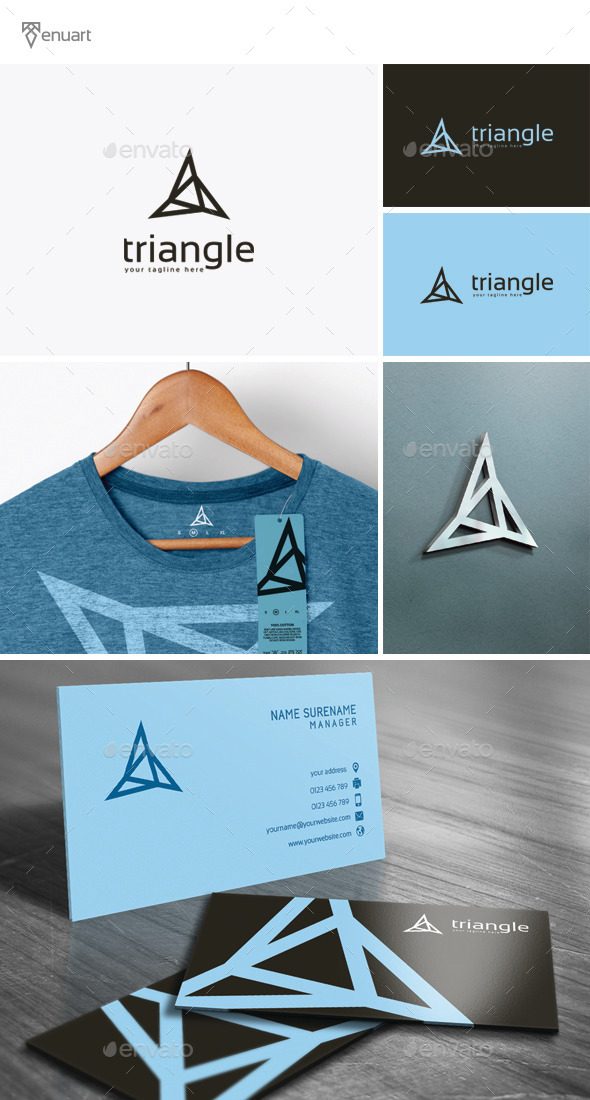 GraphicRiver Triangle Logo 11902212