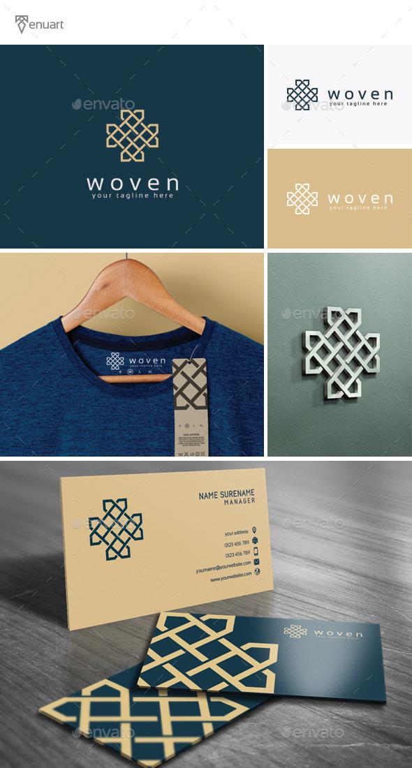 GraphicRiver Woven Logo 11902222
