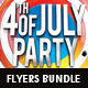 4th July Flyers Bundle 2 in 1 - GraphicRiver Item for Sale