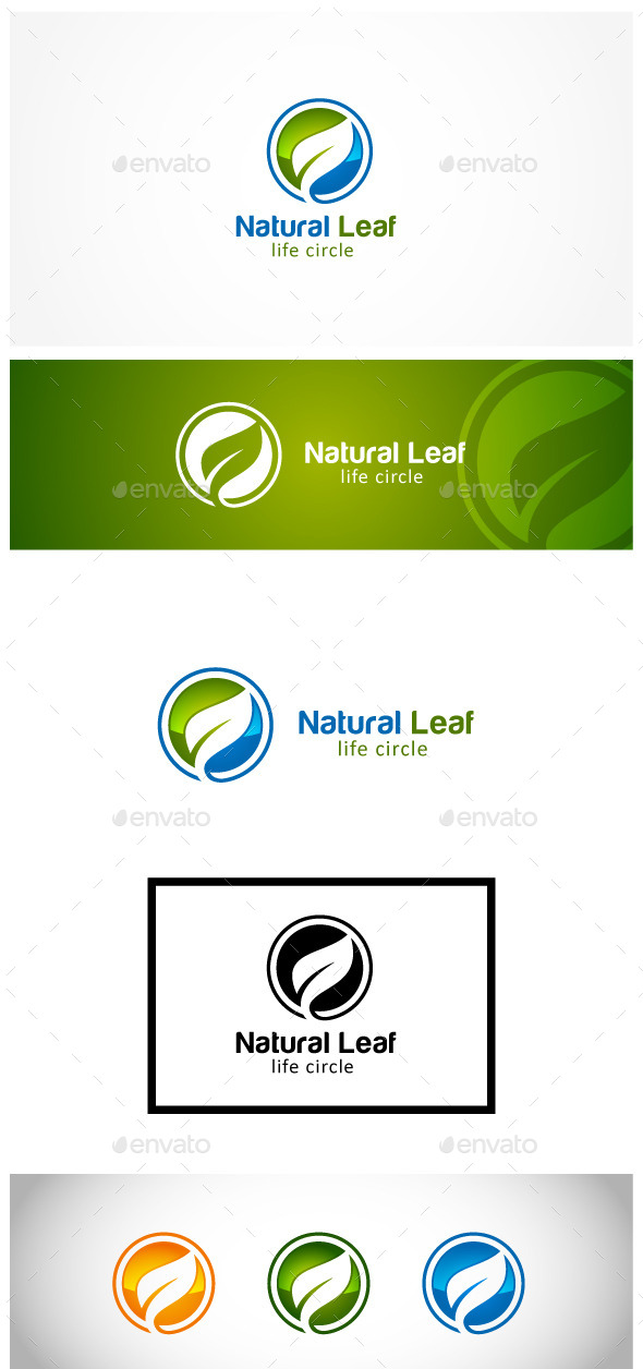 GraphicRiver Natural Leaf 11902490