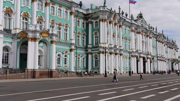 PAN Hermitage Museum St Petersburg Russia