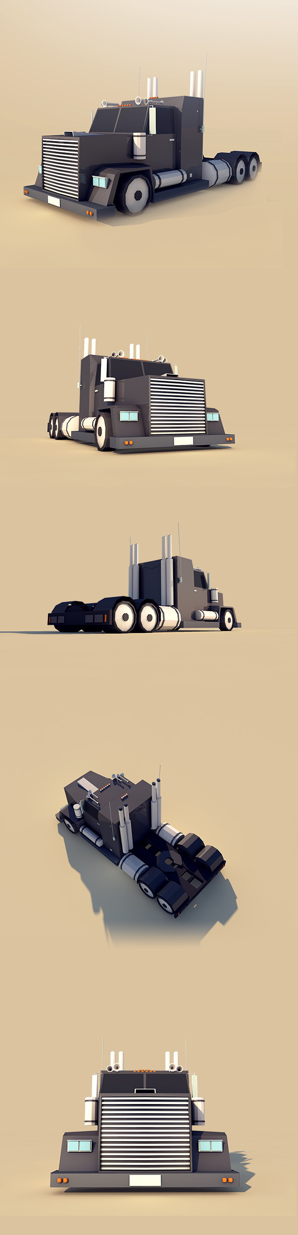 Big Truck - 3DOcean Item for Sale