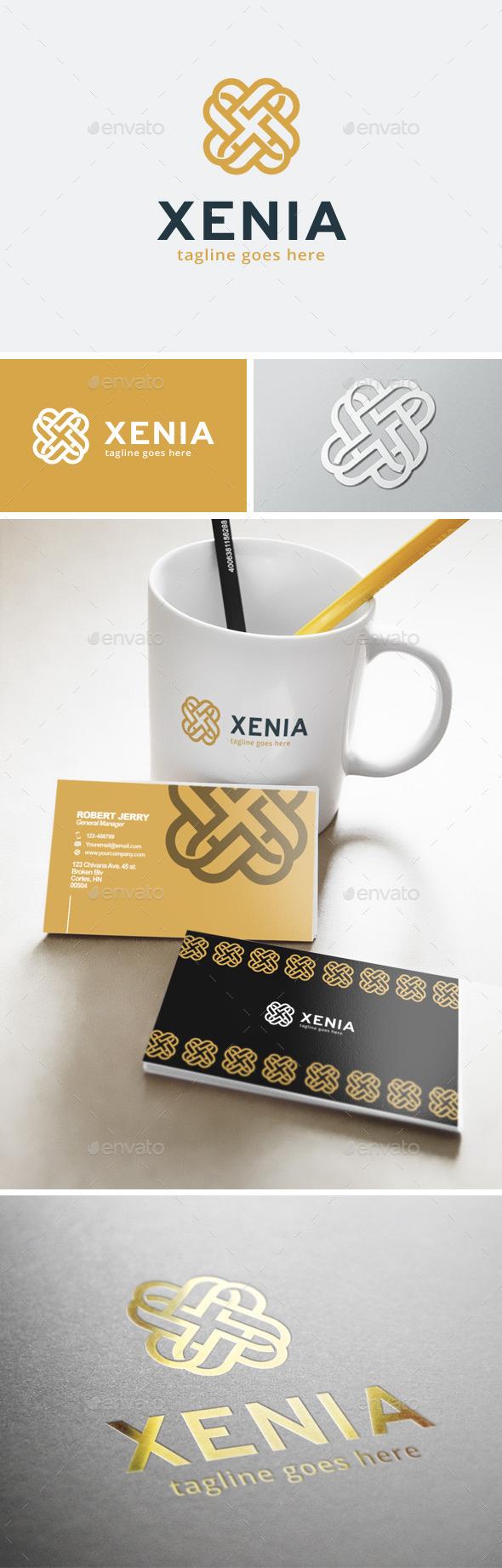 GraphicRiver Xenia Logo 11903446