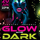 Glow in the Dark Flyer Template - GraphicRiver Item for Sale