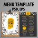 Cafe and Restaurant Template - GraphicRiver Item for Sale