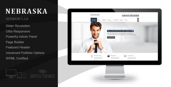 Nebraska - Responsive Multi-Purpose Theme - Corporate WordPress