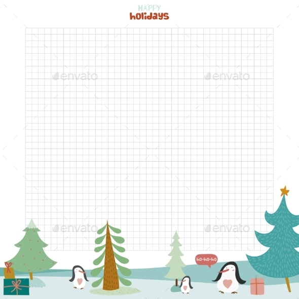 GraphicRiver Christmas Design For Notebook Diary Organizers 11904139