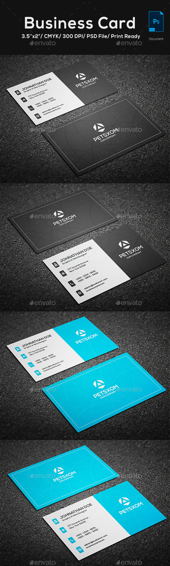 GraphicRiver Modern Business Card 11903228