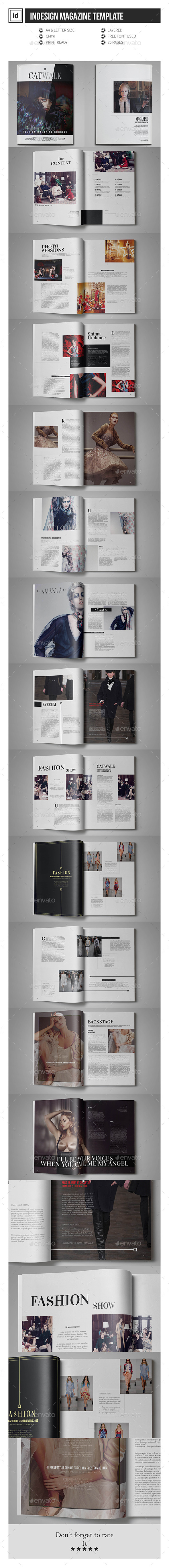 GraphicRiver Multipurpose Magazine Template 11904443