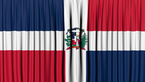 Dominican Republic Curtain Open