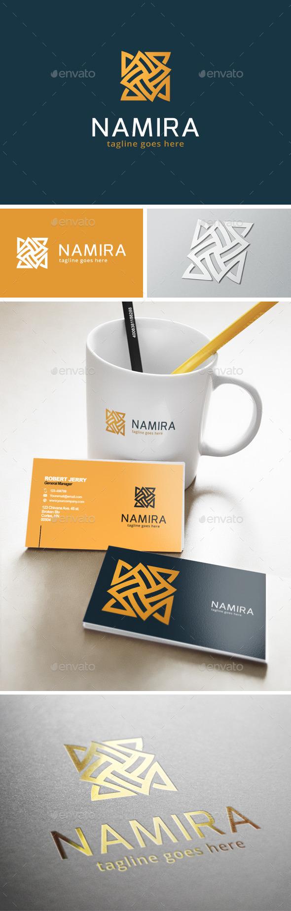 GraphicRiver Namira Logo 11904970