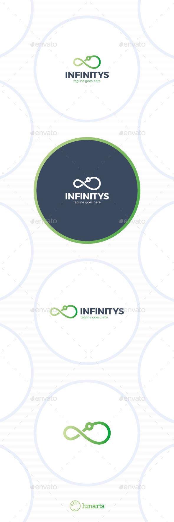 GraphicRiver Infinity Signal Logo 11905015