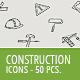 50 Construction Business Icons - GraphicRiver Item for Sale
