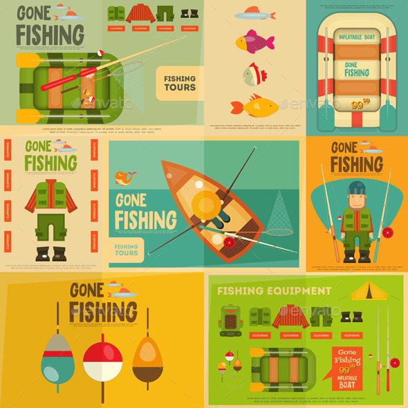 GraphicRiver Fishing 11905606