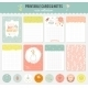 Cute Set Of Cards, Notes And Stickers. - GraphicRiver Item for Sale