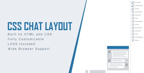 CSS Chat Layout (Layouts) Download