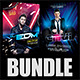 Guest DJ Party Flyer Bundle 4 - GraphicRiver Item for Sale
