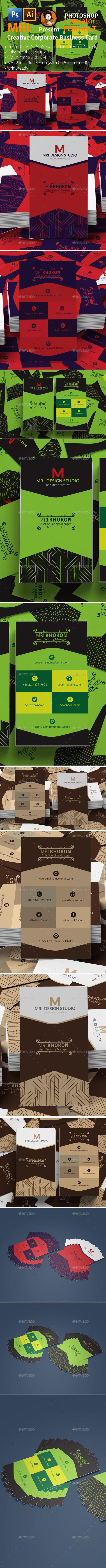 GraphicRiver Creative Corporate Business Card 11904960