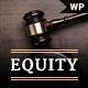 Equity - Lawyer and Attorney WordPress Theme