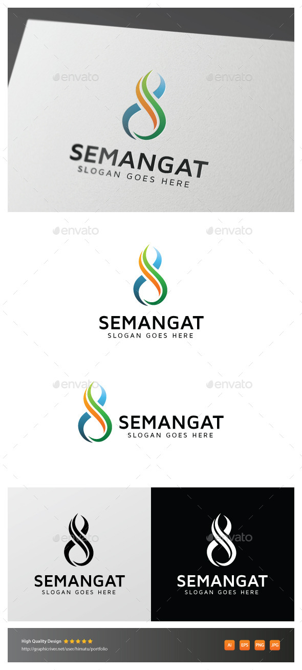 GraphicRiver Semangat 11906773
