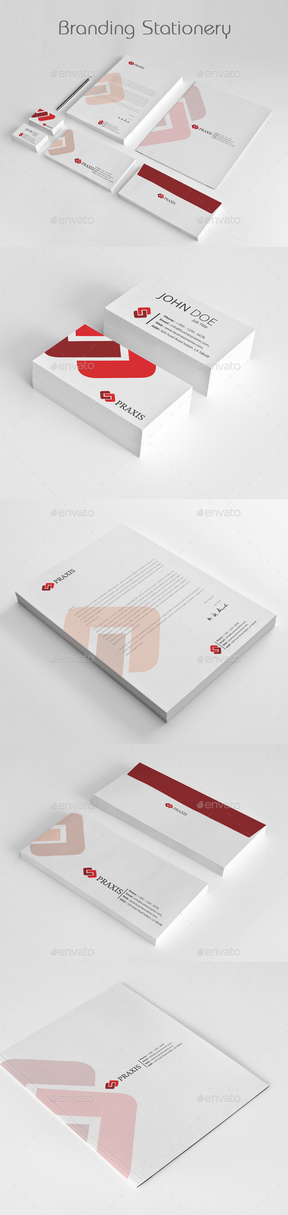 GraphicRiver Branding Stationery Templates 11907005