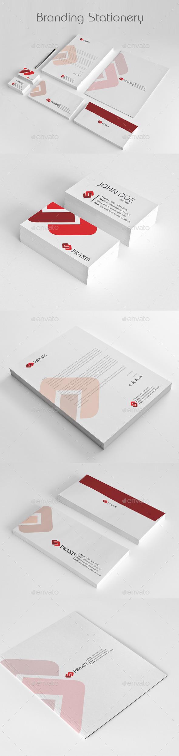 GraphicRiver Branding Stationery Templates 11907005