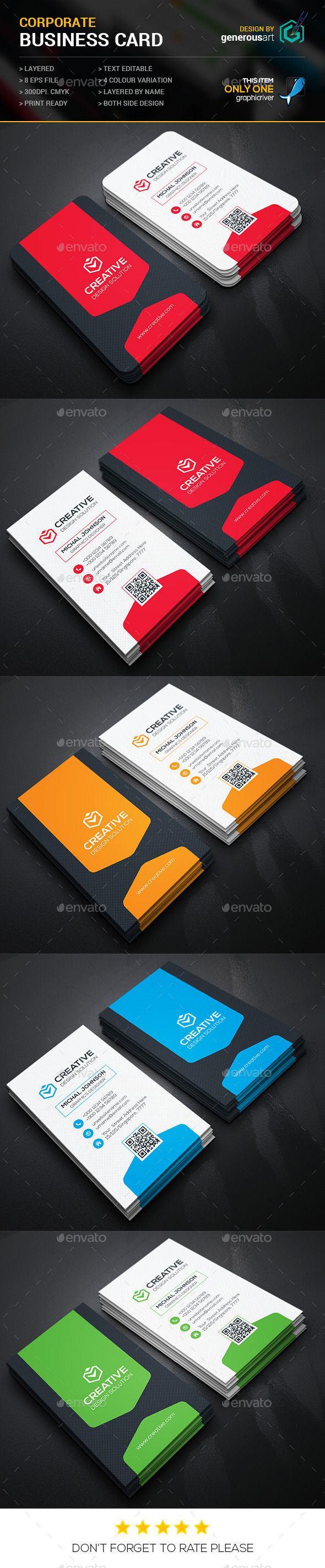 GraphicRiver Creative Business Cards-2 11907017