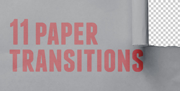 Paper Transitions Pack
