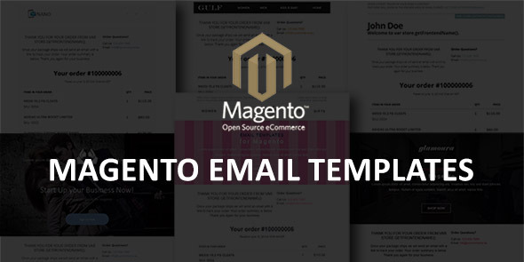 CodeCanyon Magento Email Templates 11833859